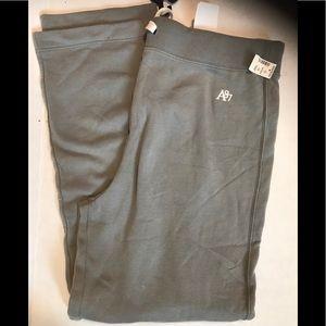Men's guys Aeropostale grey sweats jogging pants